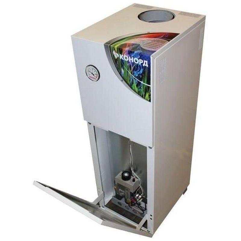Напольный газовый котел конорд: как запустить одноконтурный и двухконтурный вариант, а так же основные неисправности и отзывы
