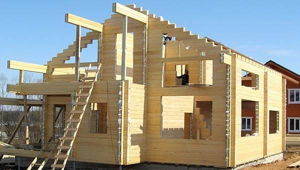 Дом из сухого профилированного бруса цена от производителя, домокомплекты
