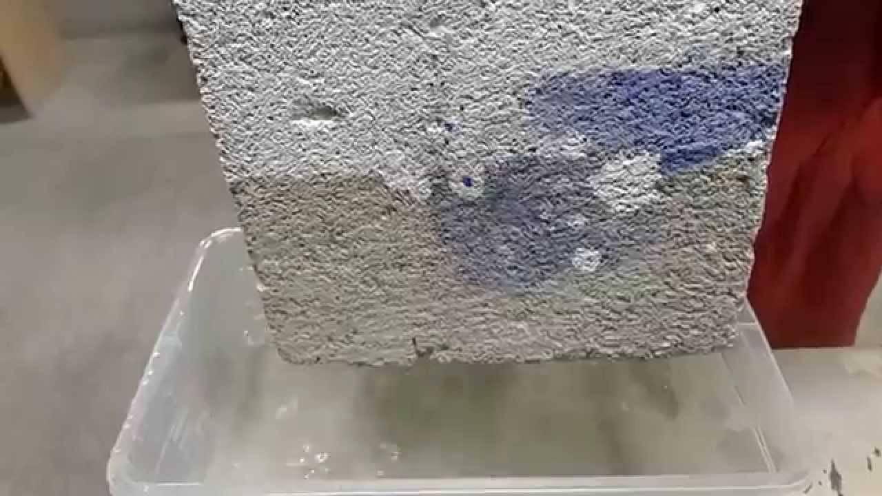 Надежные методы гидроизоляции, или чем обработать газобетонные блоки снаружи от влаги?
