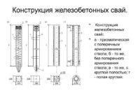 Диаметр сваи (винтовой, бетонной, забивной, буронабивной): как подобрать размер под свайный фундамент для дома, веранды и т.д.?
