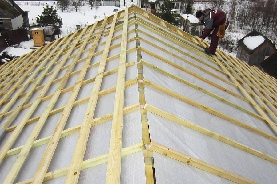 Контробрешетка крыши: для чего нужна, монтаж, примеры видео
