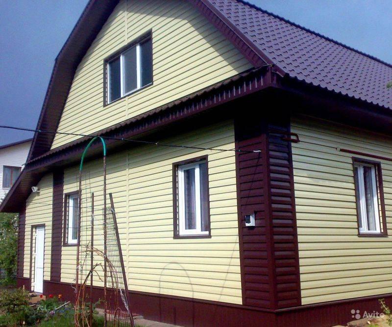Дома обшитые сайдингом: фото красивых частных домов отделанных сайдингом разных цветов и расцветок