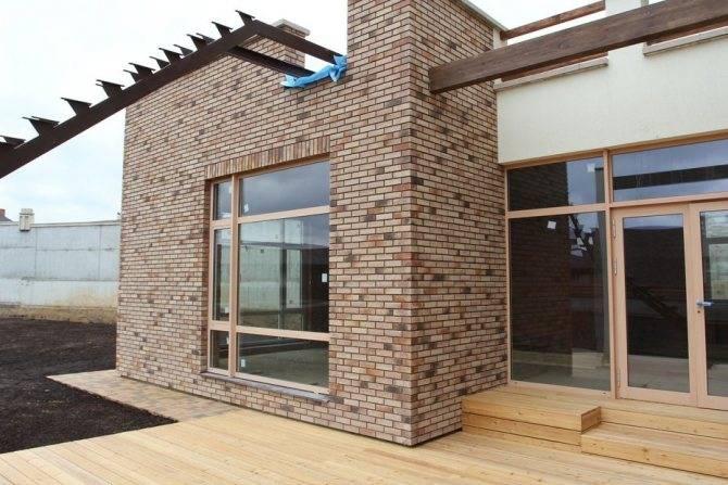 Клинкерная панель - отделка фасада дома, плюсы и минусы