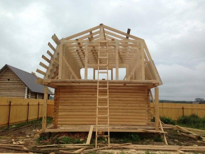 Ломаная крыша стропильная система расчет с размерами - проектируем самостоятельно