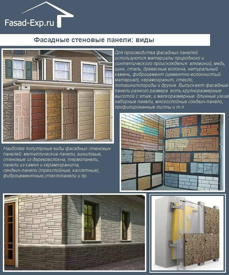 Особенности панелей для возведения наружных стен дома
