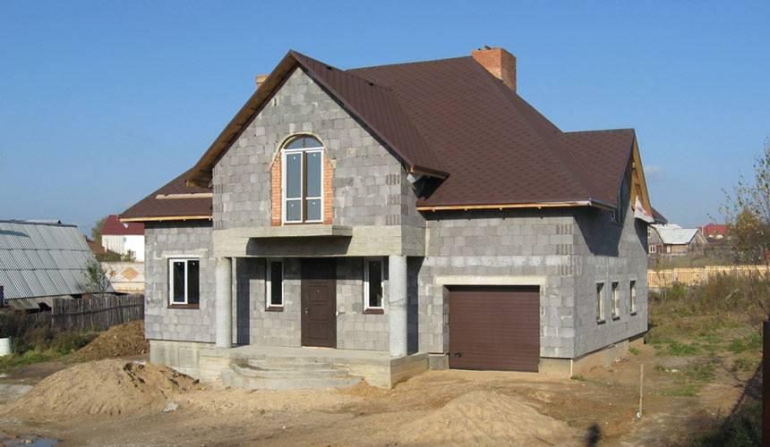 Строительство дома из керамзитобетонных блоков своими руками
