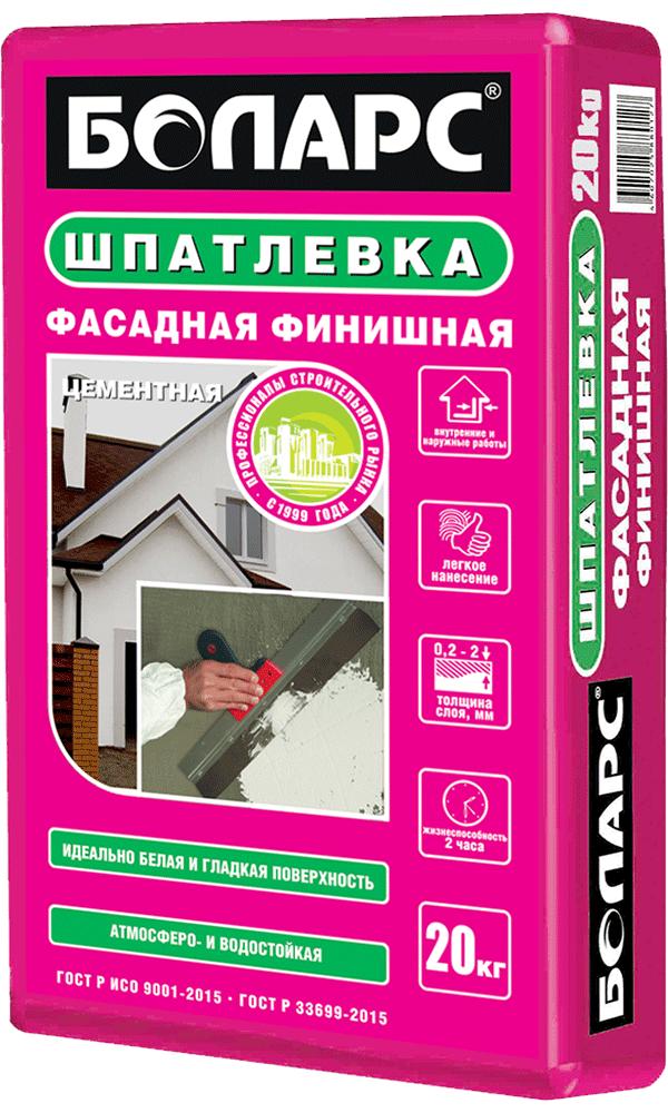 Штукатурка фасадная. технические характеристики фасадной штукатурки боларс и расход смеси штукатурка боларс для наружных работ