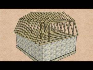 Стропильная система четырехскатной крыши: главные особенности каркаса – советы по ремонту
