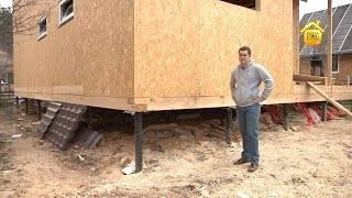 Строительство быстровозводимых домов из дерева и металлоконструкций.