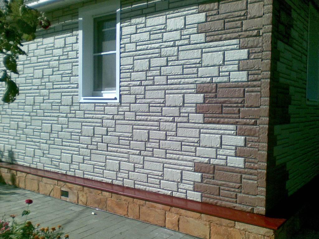 Фасадные пластиковые панели из пвх для наружной отделки дома
