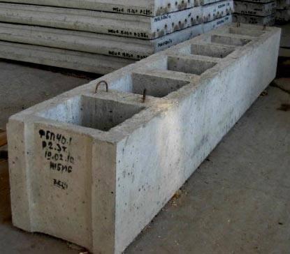 Вес блока фундаментного - размеры и маркировка, плюсы и минусы