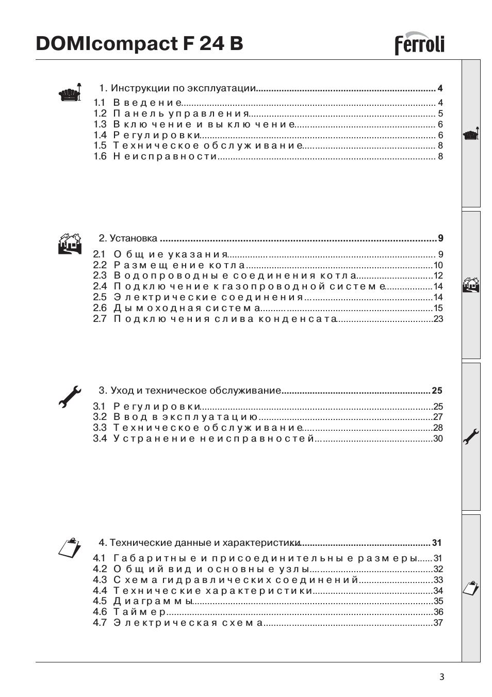 Неисправности и инструкция газовых котлов ферроли «  котлы отопления от компании kotel pro