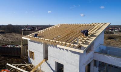 Как построить односкатную крышу – большая статья о монтаже односкатной кровли