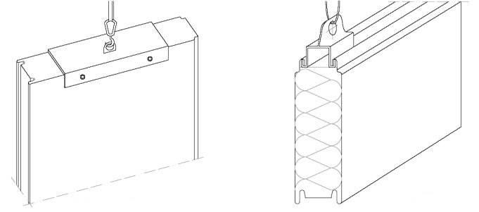 Захват для сэндвич панелей: вакуумный, крепление в замок + изготовление своими руками