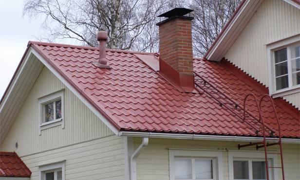 Устройство кровли и крыши под металлочерепицу — конструкция и технология (видео и фото)