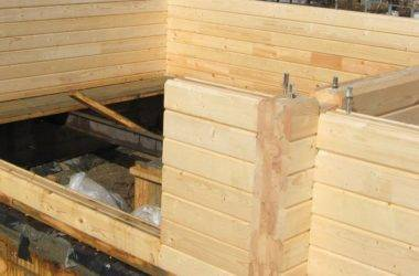 Дом из профилированного бруса - ошибки строительства