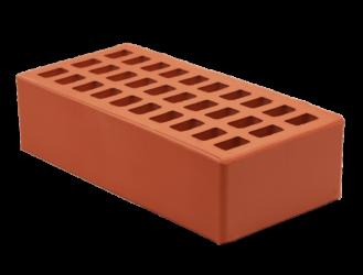Полнотелый керамический кирпич: вес и плотность красного одинарного материала размером 250х120х65, рядовой и лицевой полуторный компонент м125