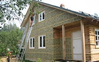 Отделка стен в деревянном доме из бруса. как правильно утеплить дом из бруса изнутри