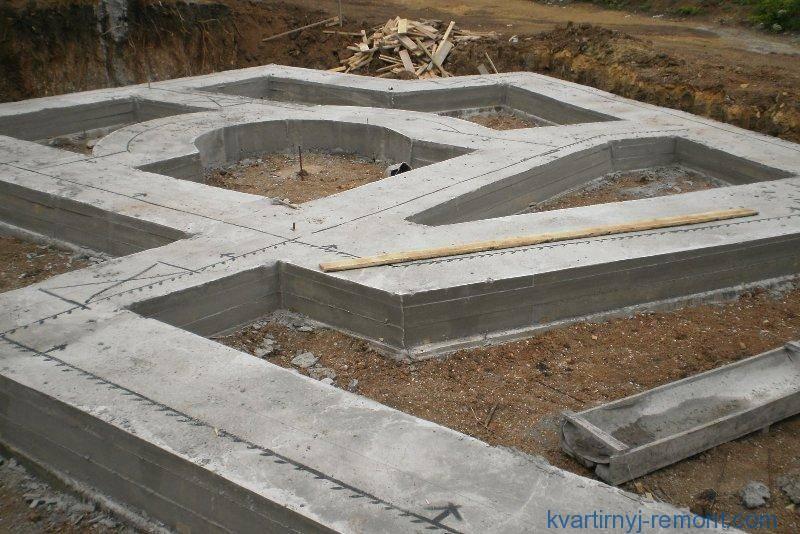 Марка бетона для фундамента: какая нужна для ленточного основания частного дома, какого класса лучше использовать и каким надо заливать свайный