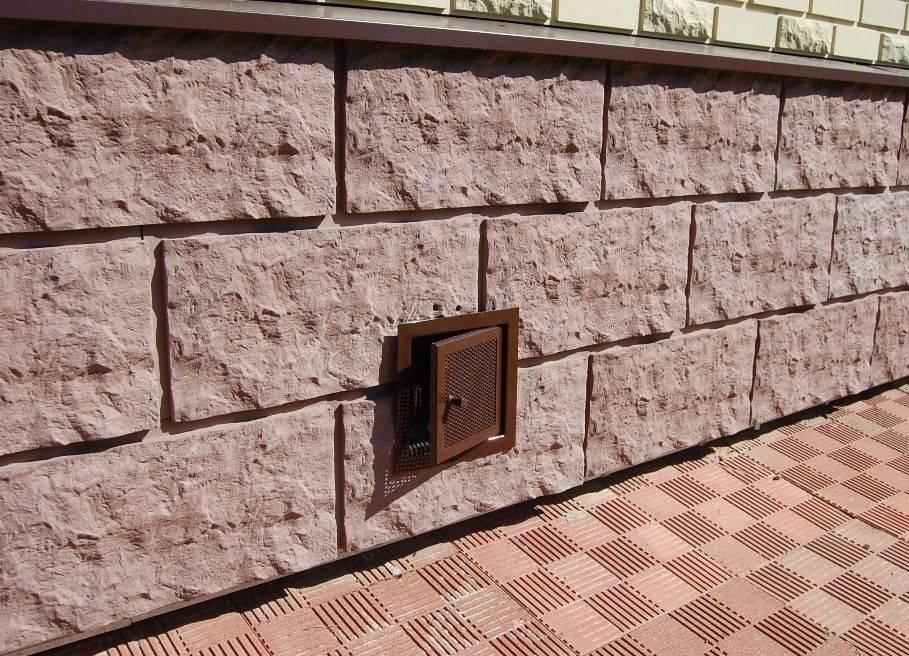 Фасадные цокольные панели для наружной отделки цоколя дома: виды (под кирпич, камень), технология отделки и подготовка фундамента