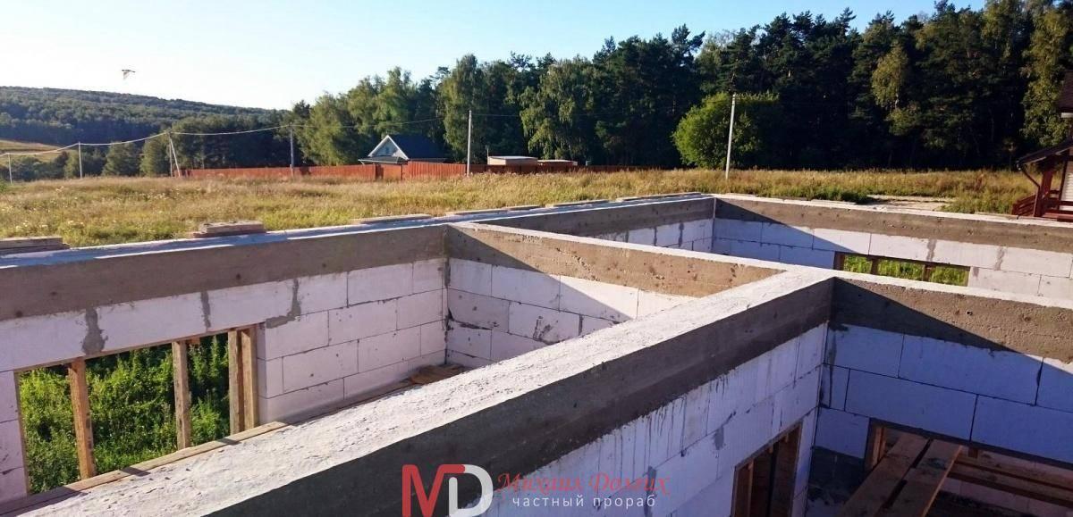 Армопояс в доме из газобетона - инструкция по заливке армопояса