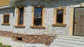 Облицовка дагестанским камнем: пошаговая технология выполнения работ