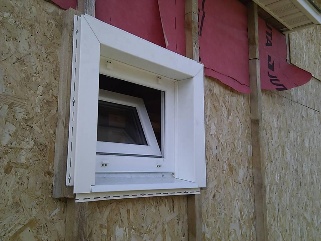 Монтаж сайдинга вокруг окна - подготовительные работы и технология обшивки
