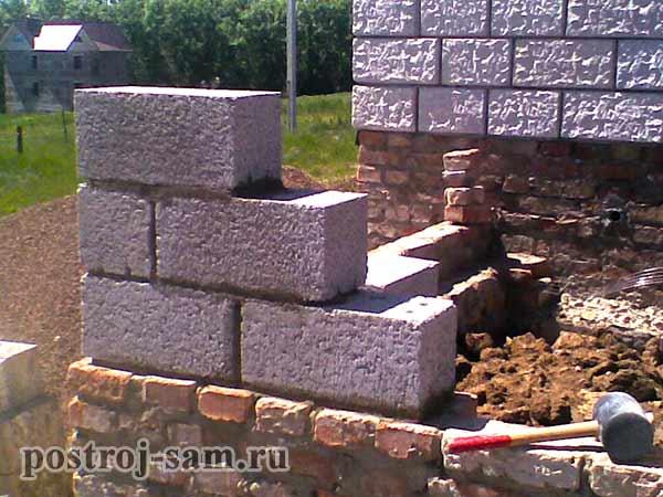 Построить дом из керамзитобетонных блоков самостоятельно