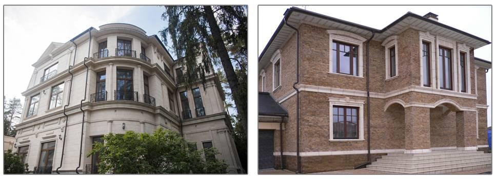 Облицовка фасада натуральным камнем: технология отделки дома природным материалом (фото, видео)
