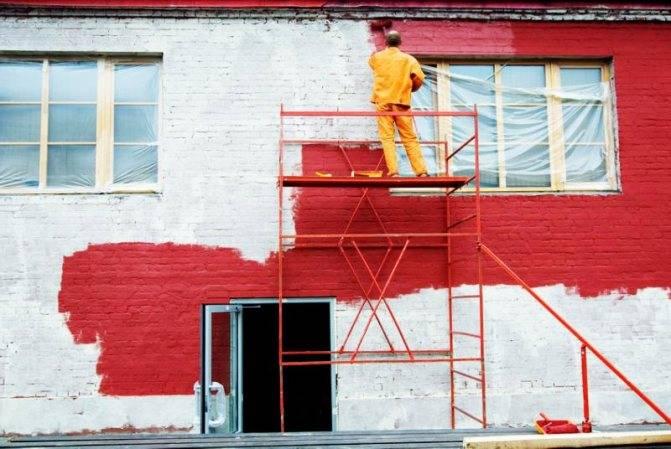 Перхлорвиниловая краска для фасада: что это такое фасадная хв 161 технические характеристики, окраска перхлорвиниловыми красками фасадов