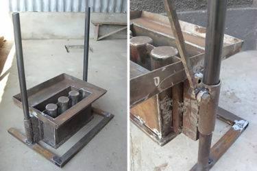 Чертежи для станков для шлакоблоков для самостоятельного изготовления