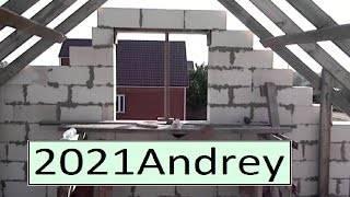Фронтоны своими руками: тонкости сооружения каркасных торцовых стен крыши