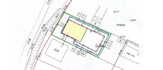 Схема планировочной организации земельного участка для ижс (спозу)