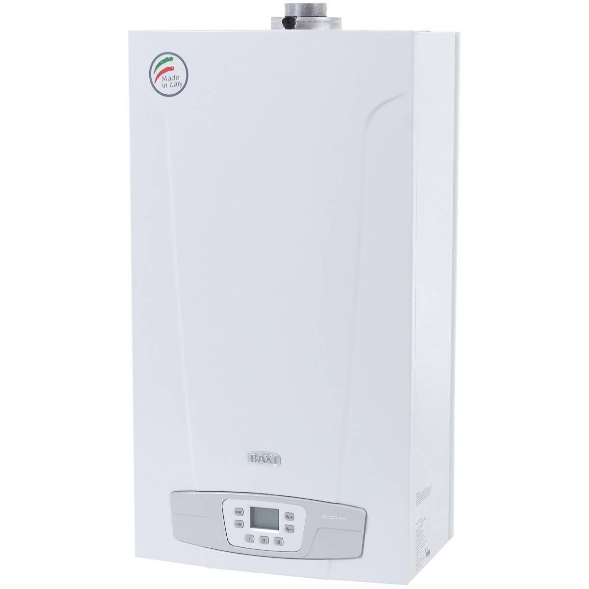 Инструкция по эксплуатации газового котла baxi main 24 fi + его устройство и технические характеристики