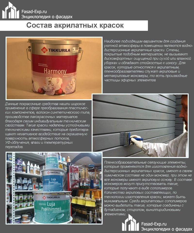 Фасадные краски для наружных работ: виды, характеристики, производители и цены