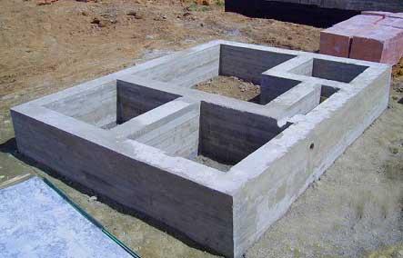 Как правильно приготовить смесь для фундамента, пропорции бетона в ведрах