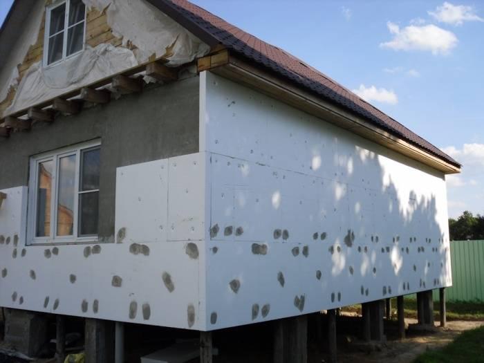 Наиболее эффективные способы утепления фасадов
