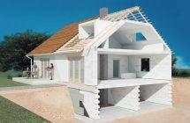 Дом из газобетона своими руками - подробная инструкция по монтажу