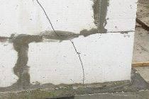 Причины трещин в газобетоне, можно ли исправить
