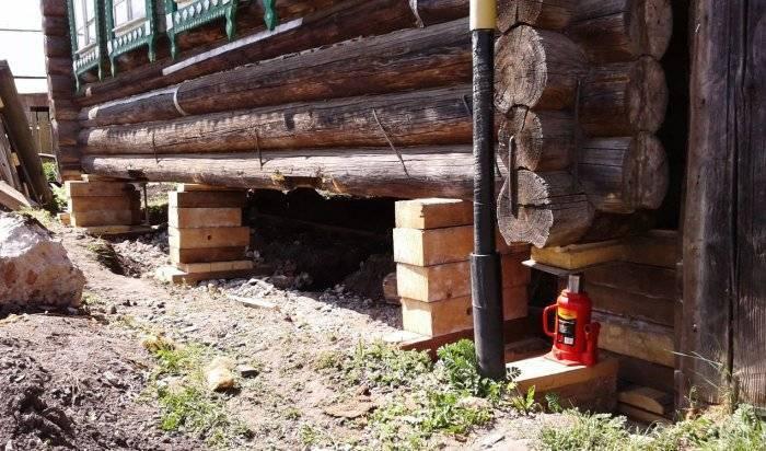 Ремонт фундамента деревянного или кирпичного дома своими руками