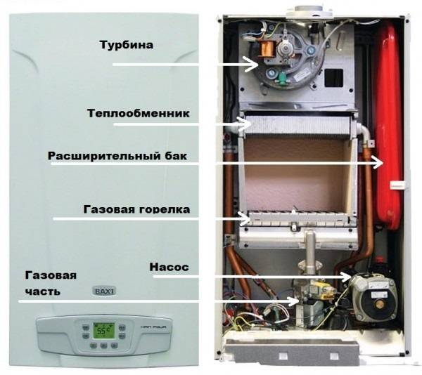 Как устроены напольные газовые котлы Baxi + инструкция по эксплуатации и отзывы пользователей