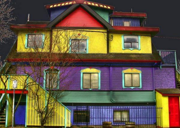 Комбинированная покраска стен в два и более цвета: 10 вариантов дизайна | домфронт
