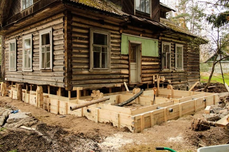 Ремонт фундамента дома своими руками
