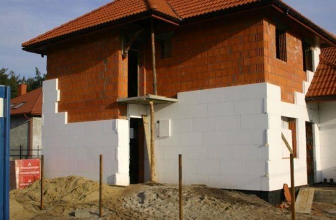 Технология утепления кирпичной стены снаружи + выбор оптимальной теплоизоляции