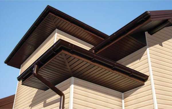 Чем и как выполняется подшивка односкатной крыши?