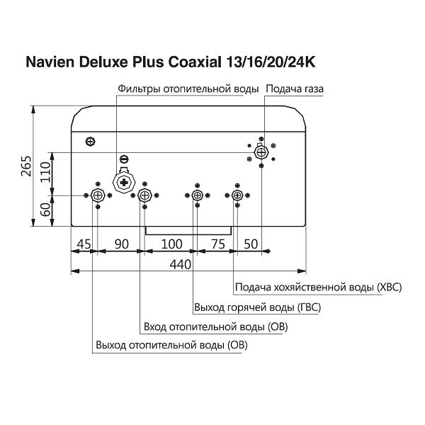 Инструкция по подключению газового котла navien deluxe 16k coaxial plus + его технические характеристики и отзывы пользователей