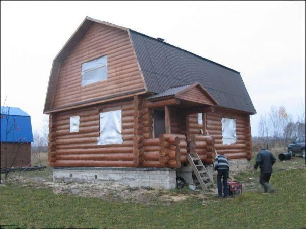 Отделка мансарды с ломаной крышей + фото интерьера мансардных крыш частных домов внутри
