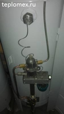 Как регулировать температуру в газовом котле жмз