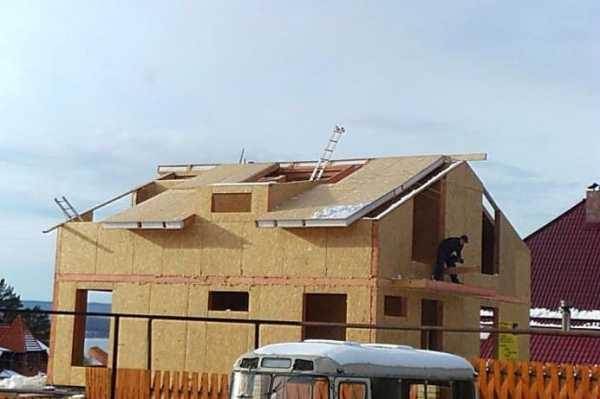 Дом из сип-панелей своими руками
