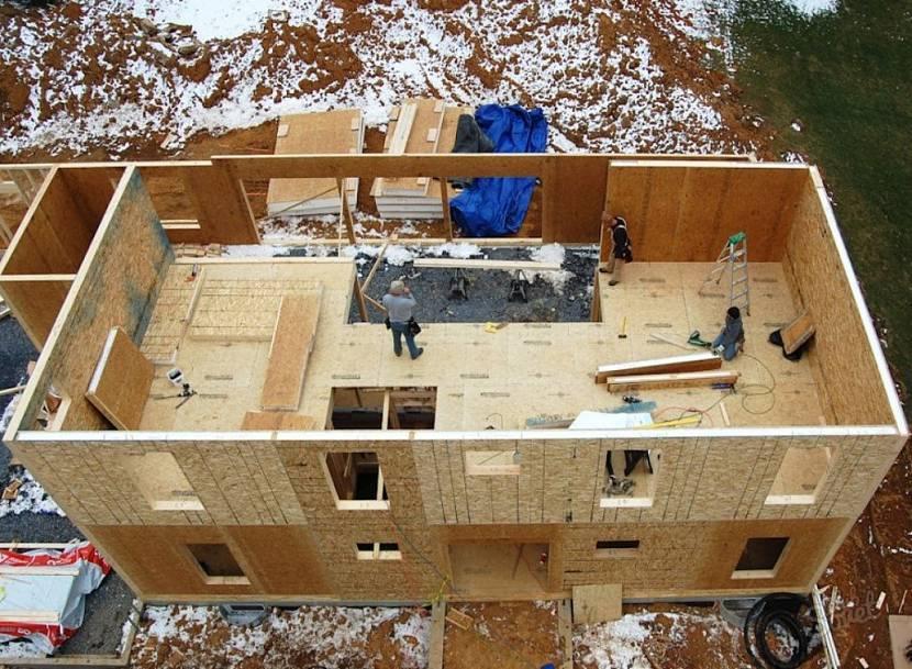 Каркасный дом и из сип-панелей: какой лучше, чем отличаются - сравнение, отличия технологии строительства